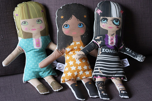 softie dolls | by Katarina Roccella