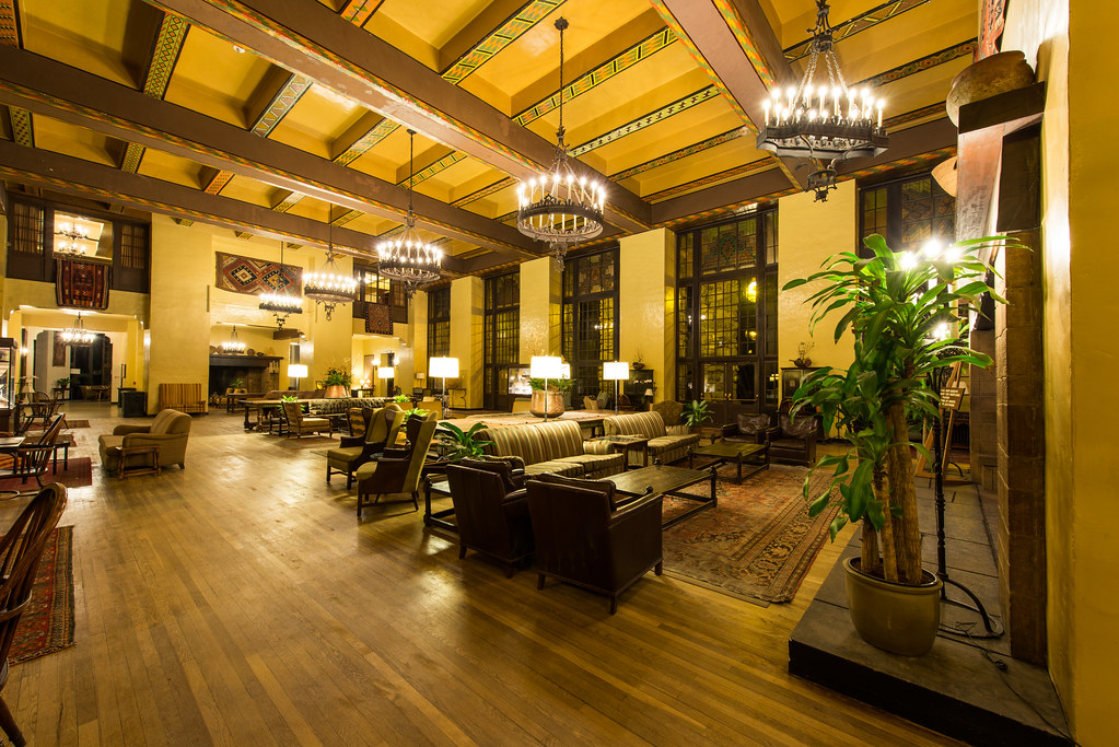 The Overlook Hotel, The Colorado Room (The Ahwahnee Hotel ...