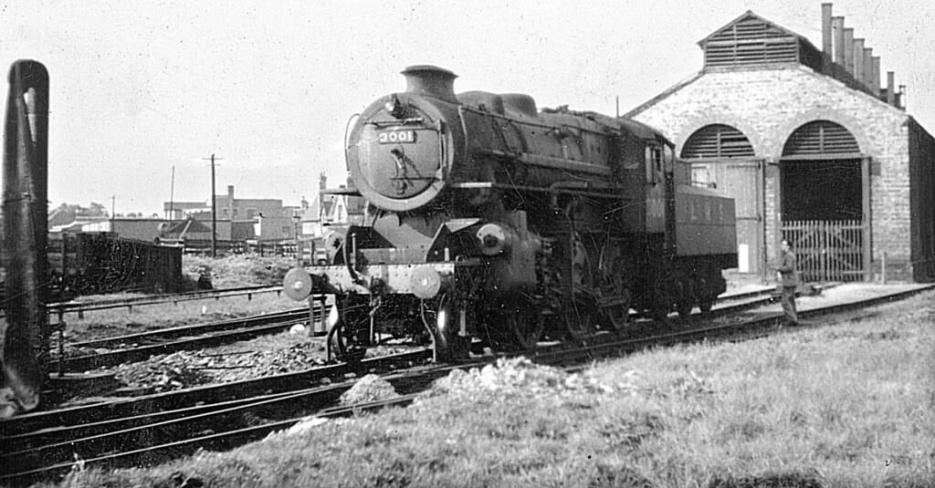 Cambridge Old Lms Loco Shed Lms 2mt 3001 1948 Jvol1257 Flickr