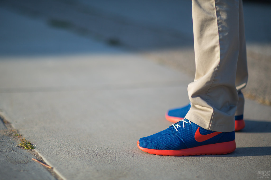 brand new 39ad8 48c34 ... Nike Roshe Run - Knicks   by Jeremy Thomas Photography