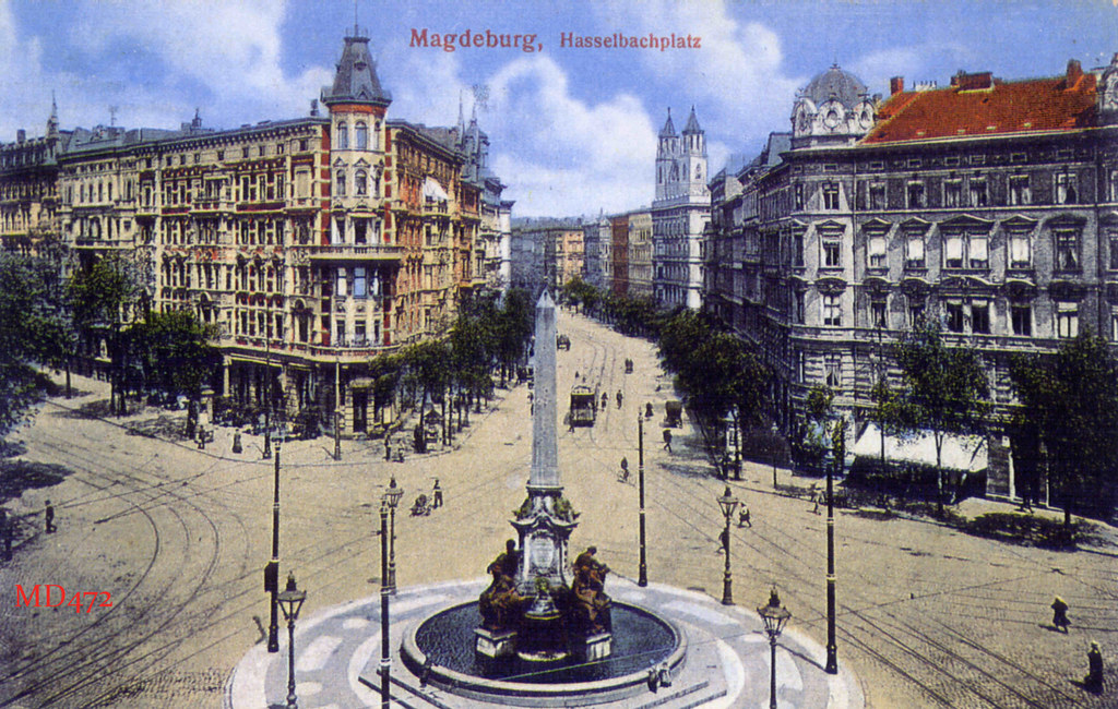 hasselbachplatz magdeburg vor 1945 magdeburg before 1945 ren flickr. Black Bedroom Furniture Sets. Home Design Ideas
