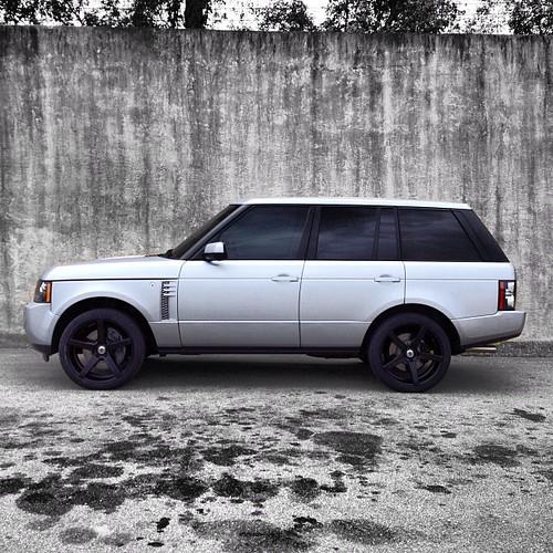 """2013 Range Rover SC On 22"""" Matte Black XO Miami Wheels. #x"""
