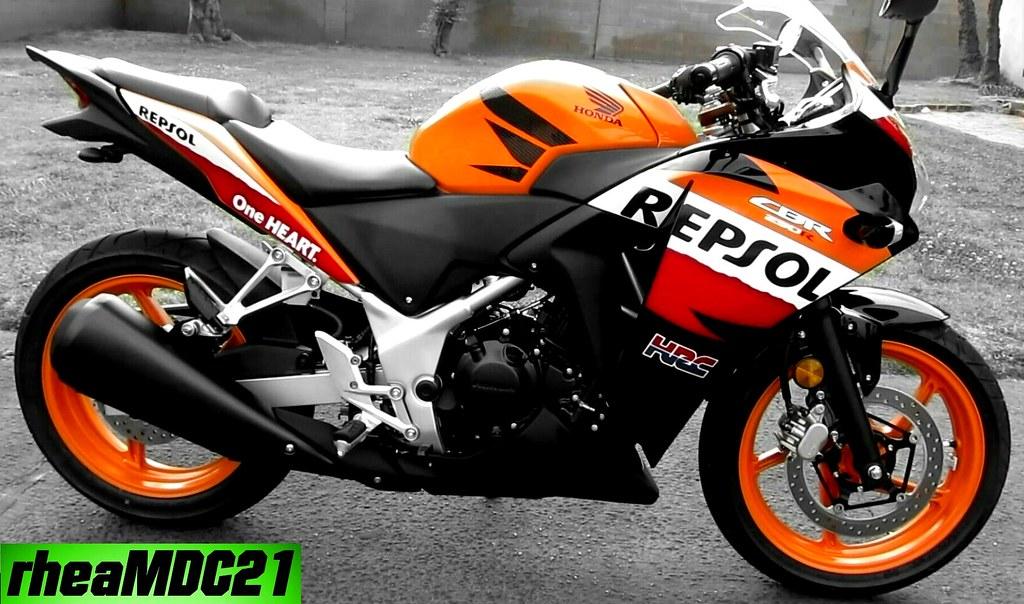 Honda CBR 250R Repsol Moto GP | My 2013 Honda CBR 250R Repso… | Flickr