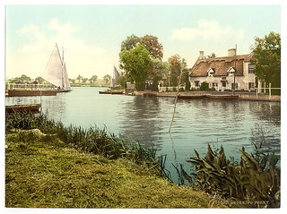 [The ferry, Horning Village, England]  (LOC) | by The Library of Congress