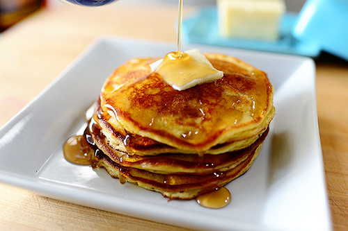 Sour Cream Pancakes | by Ree Drummond / The Pioneer Woman