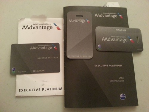 Citi Mastercard Sign In >> New 2013 AAdvantage Executive Platinum Welcome Kit | Flickr