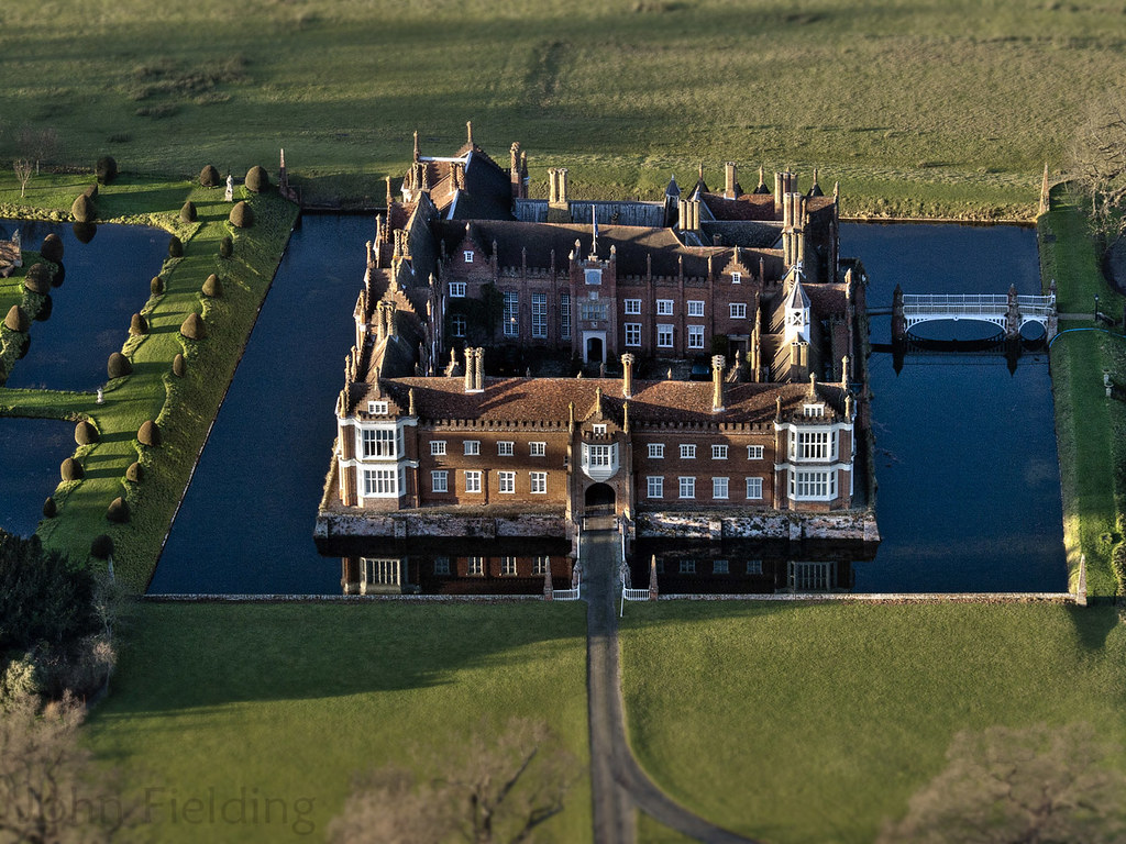 Helmingham Hall Aerial Image Helmingham Hall Helmingham