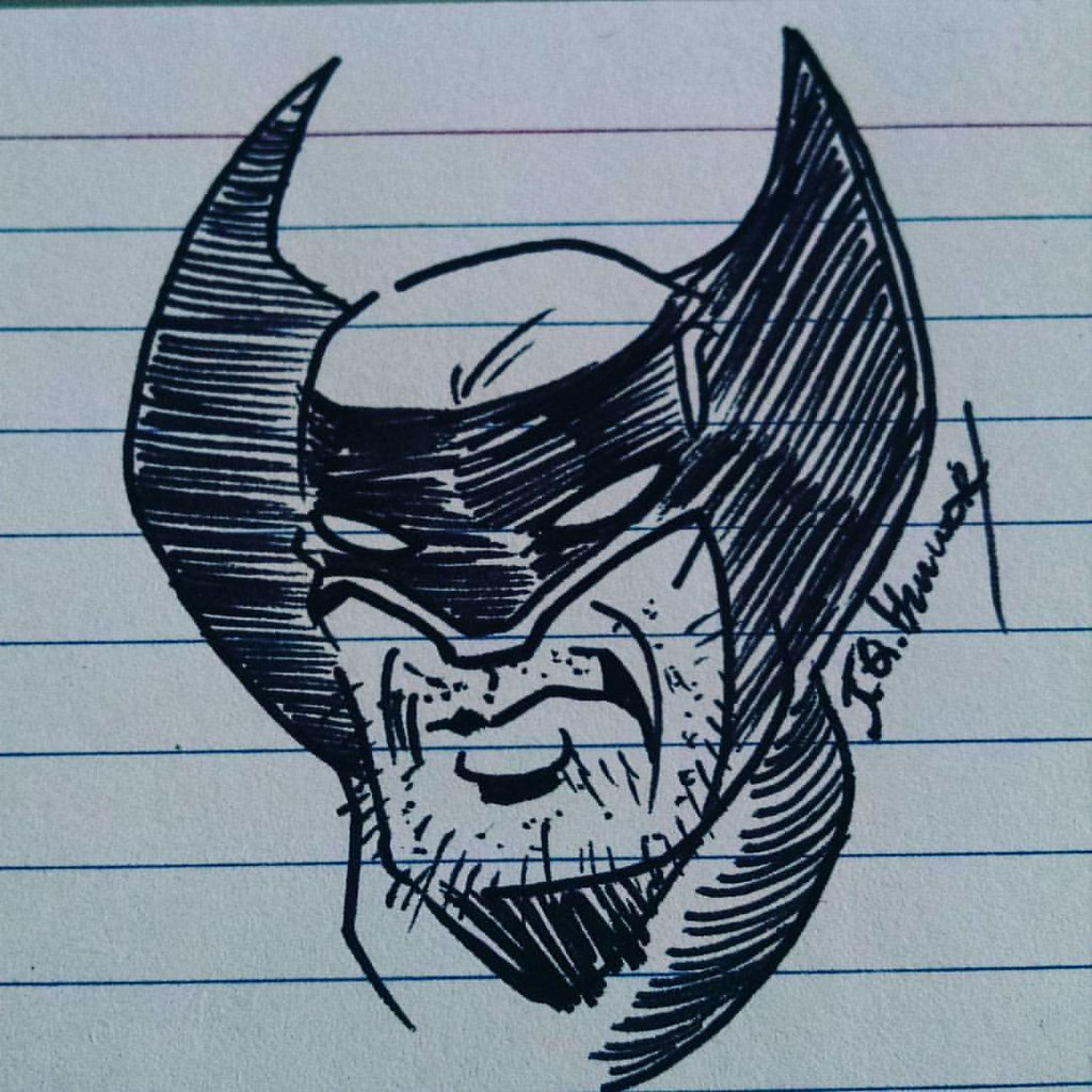 A Stunning Wolverine Sketch My Buddy Jqhammer Quickly Sc
