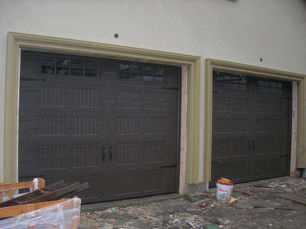 768 #6D604E New Garage Doors By JP Overhead Doors Two Steel Insulated  wallpaper Insulated Overhead Garage Doors 37351024