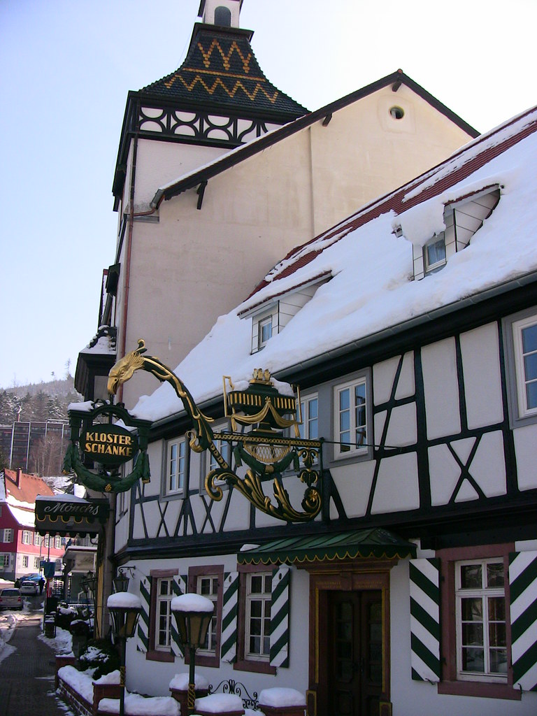 Bad Herrenalb, Klosterschenke, 63-34a | Bad Herrenalb, Klost… | Flickr