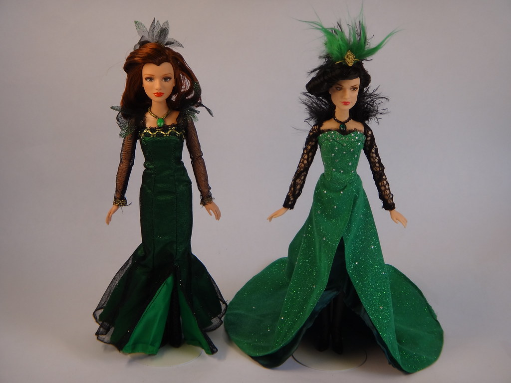 comparing evanora wicked witch of the east dolls tolly