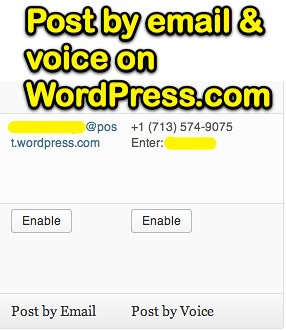 Post by email & voice on WordPress.com | by Wesley Fryer