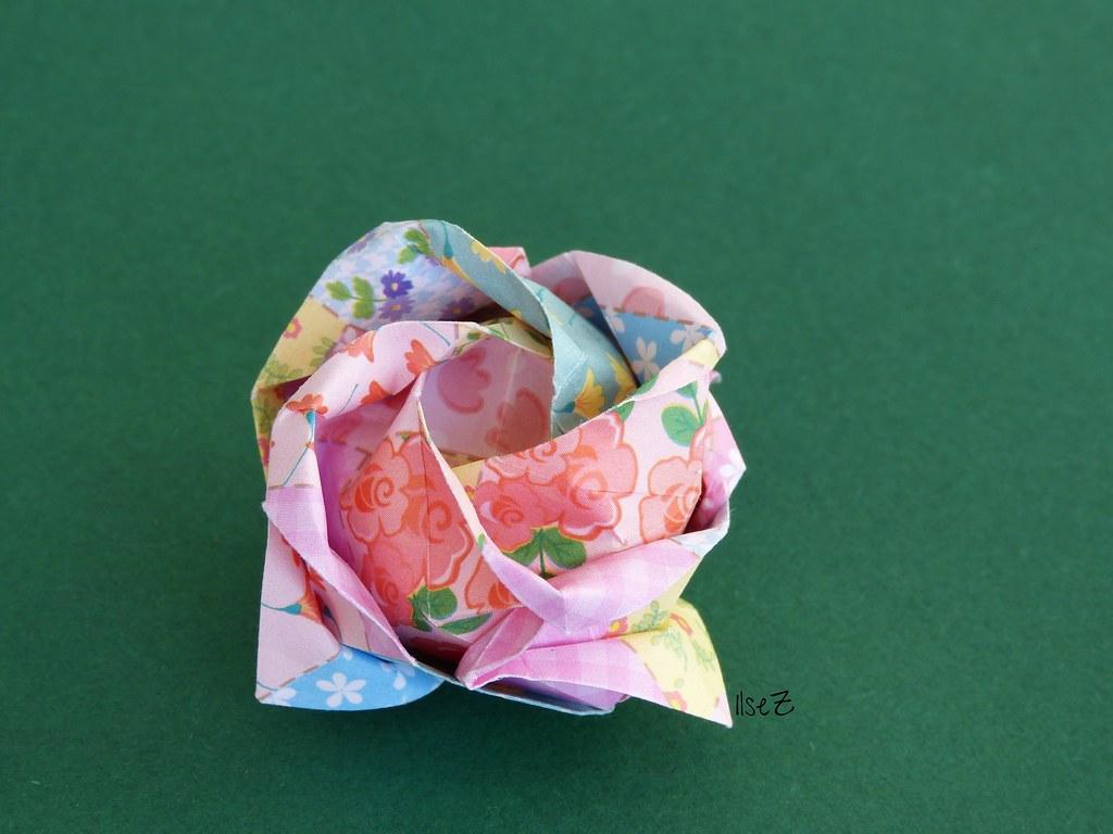 Origami Kawasaki Rose by Toshikazu Kawasaki | Designer ... - photo#22