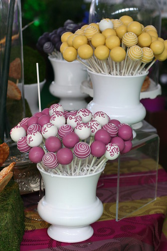Mad Hatter Cake Pops