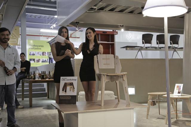 Subasta de muebles realizados por alumnos de Diseño Indust ...