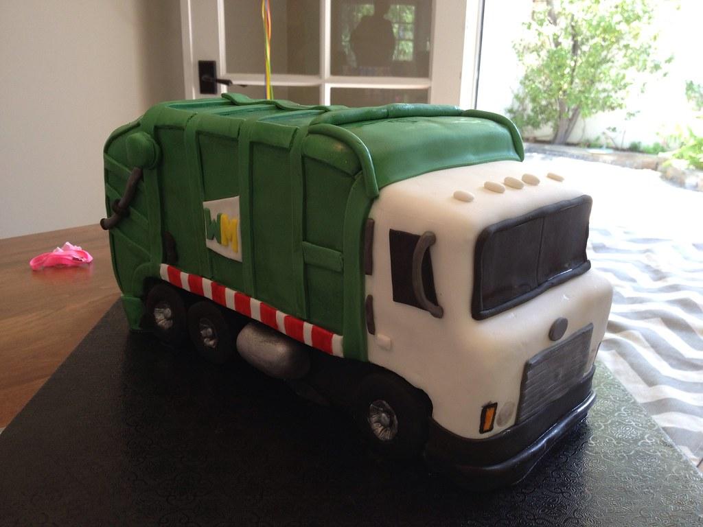 Truck Birthday Cake Tutorial