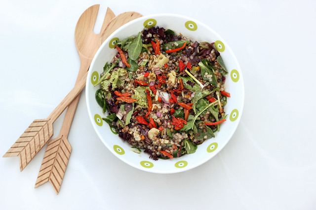 Mediterranean Lentil and Couscous Salad - Gluten-free + Vegan
