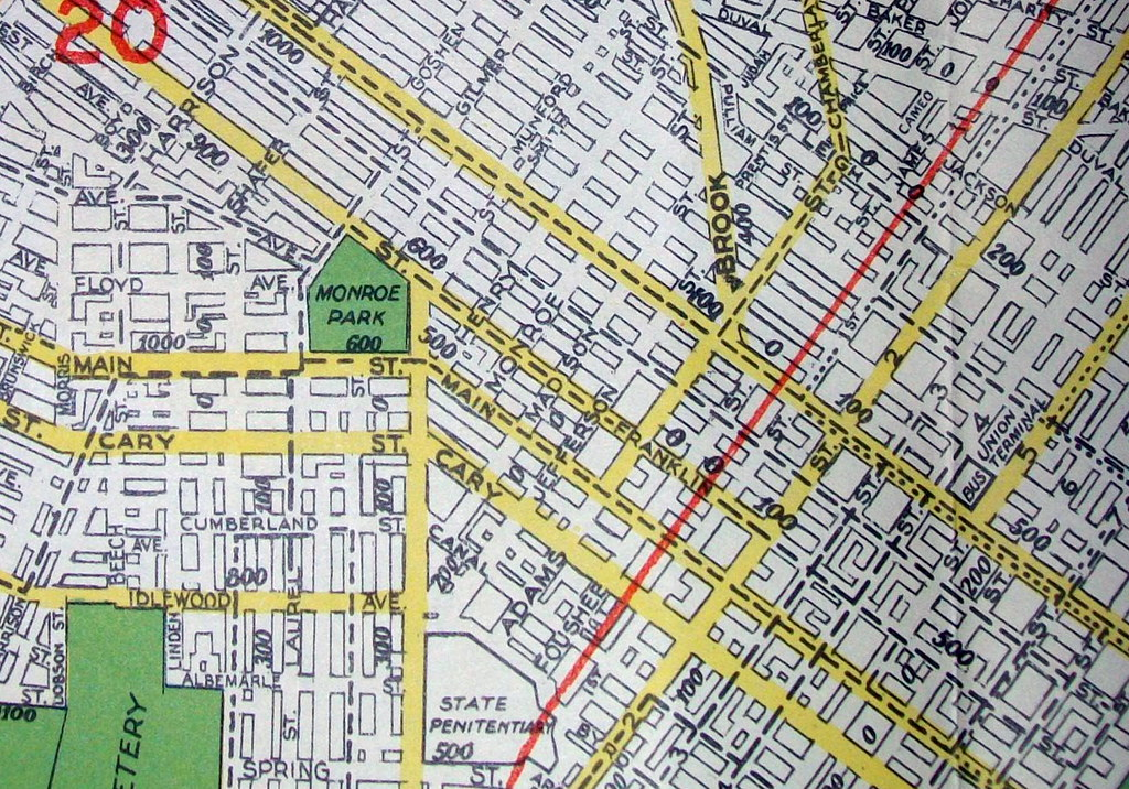 City Of Richmond Va >> Richmond VA 1948 | Map by Geographia Map Co. Map shows the d… | Flickr