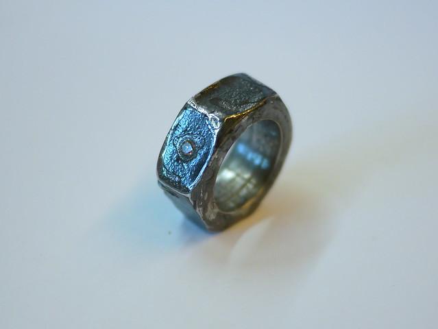 Champage Diamond Ring