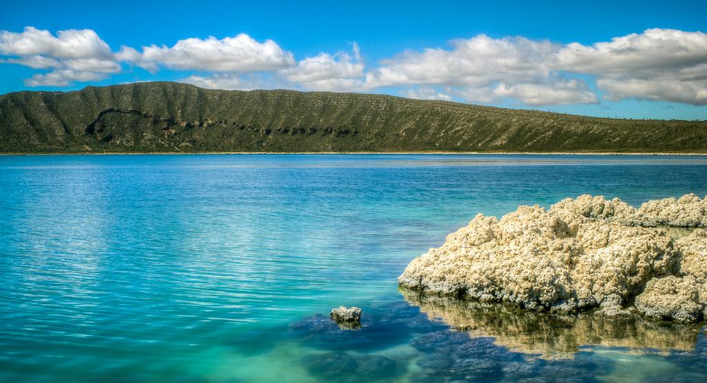 Quietud En Alchichica Lago Salino De Alchichica Puebla