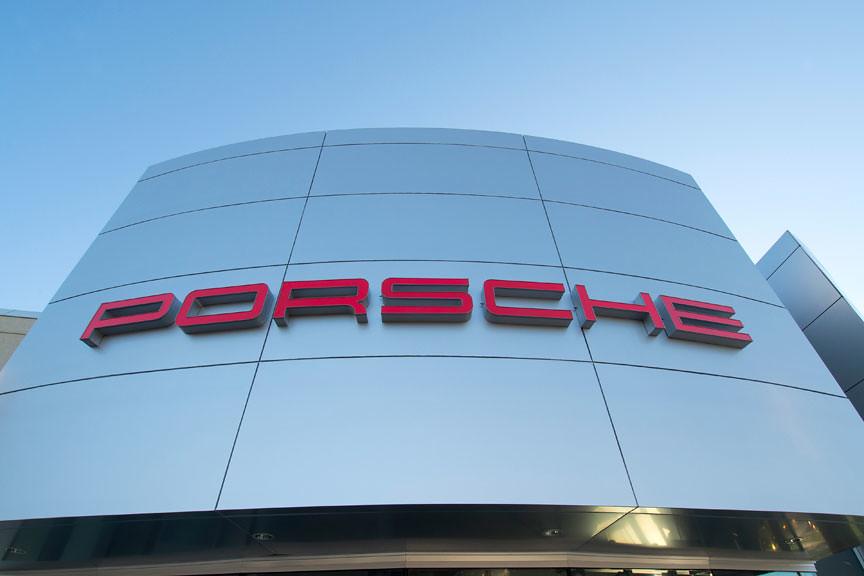 Alpolic Project Porsche Dealership Virginia Local
