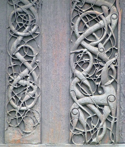 Viking art,  Urnes style | by Frans.Sellies