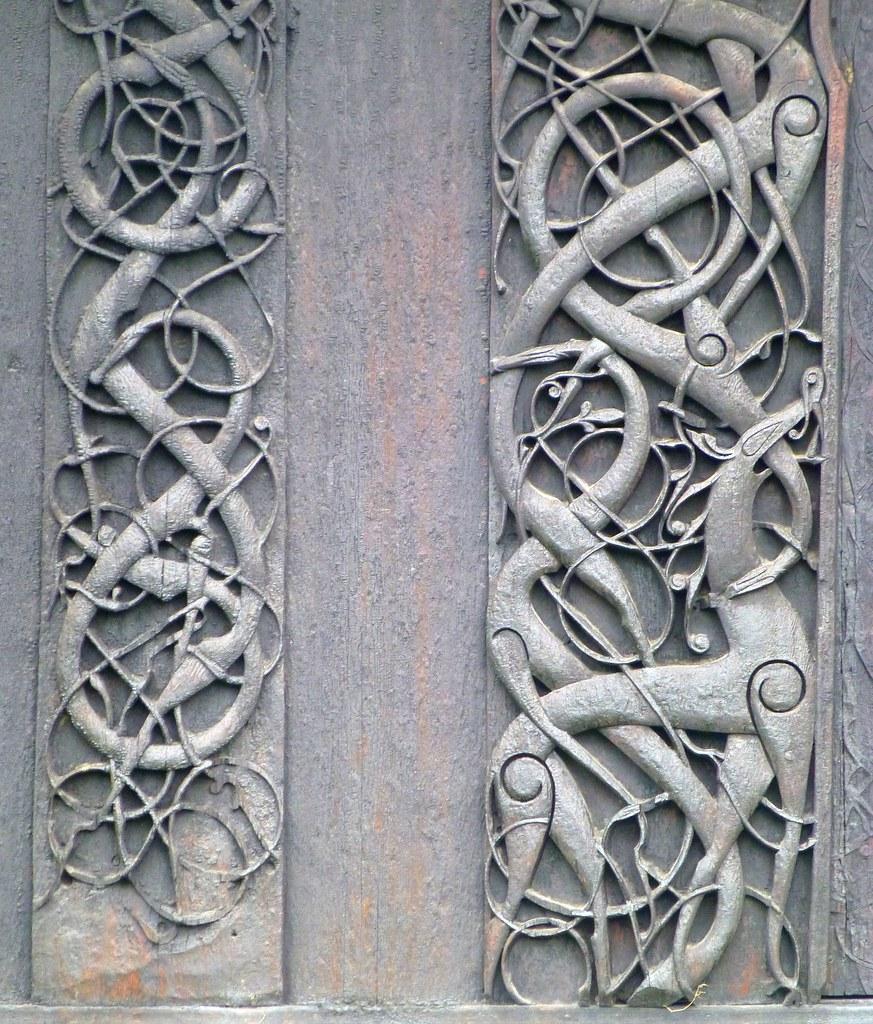 Viking Art Urnes Style Urnes Stave Church Norwegian Urn Flickr - Urnes norway map