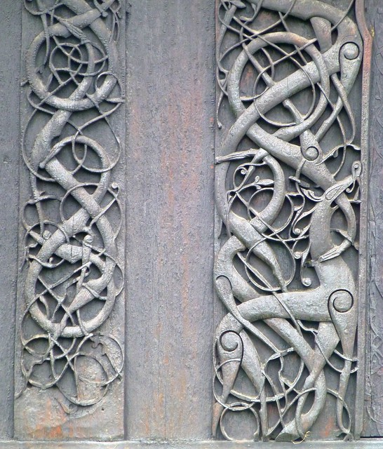 Viking art, Urnes style | Flickr - Photo Sharing!