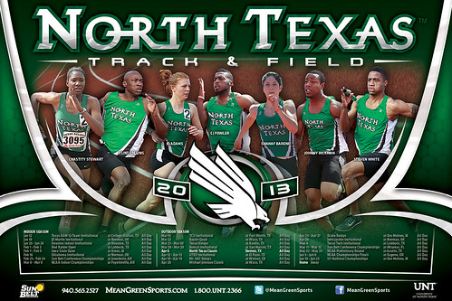 university of north texas track meet