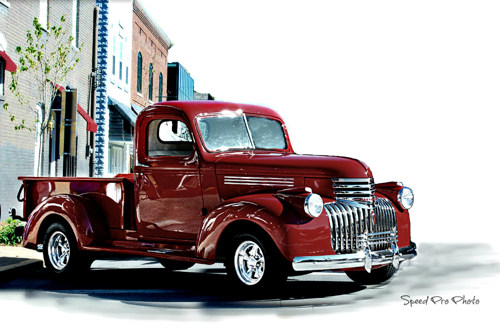 New Dodge Truck >> 1942 Chevrolet Pickup Truck | SpeedProPhoto | Flickr