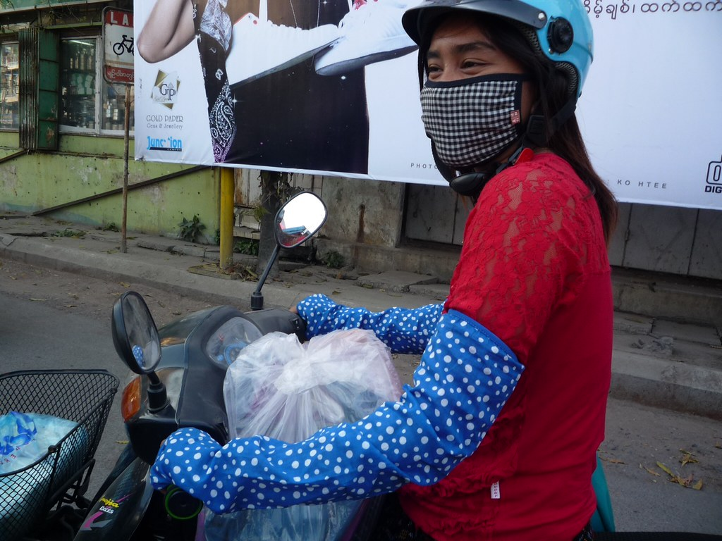 Knitting Jobs Nz : Mandalay girl bikers are the cutest in world but