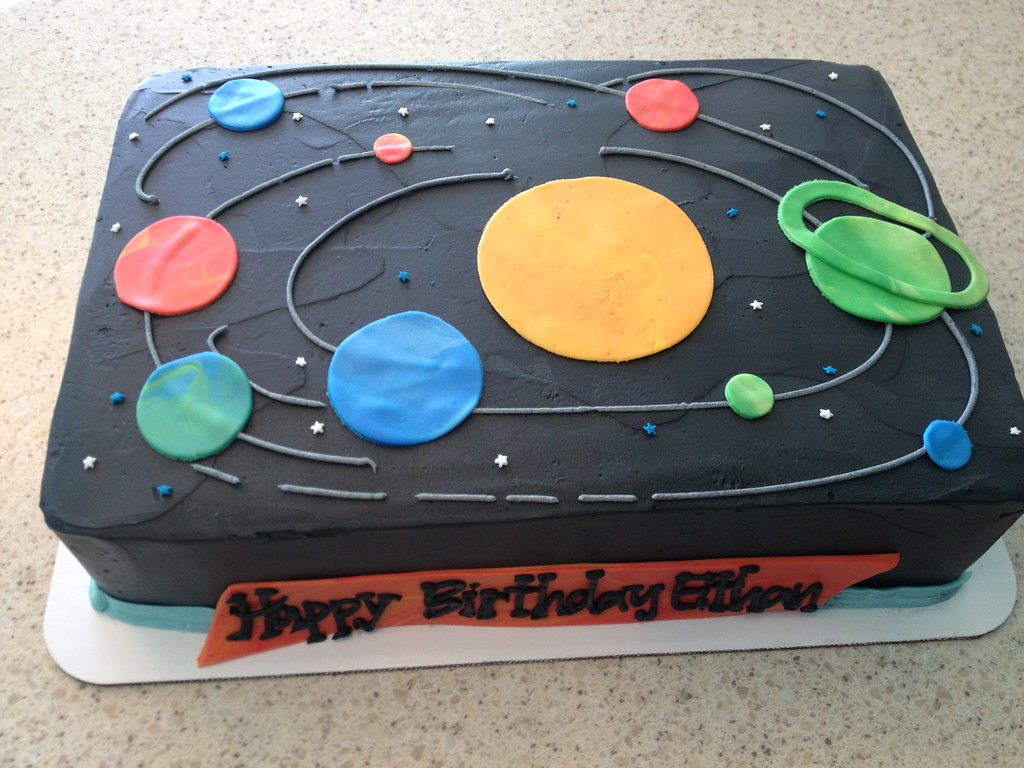 Solar System Birthday Cake | Delicately Delicious | Flickr