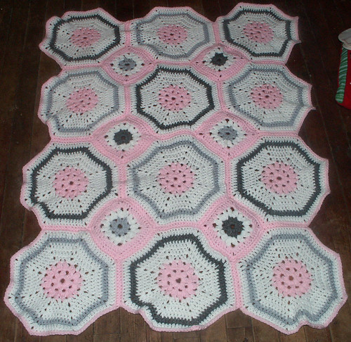 octagon and square baby blanket Culleen Mandigo Free ...