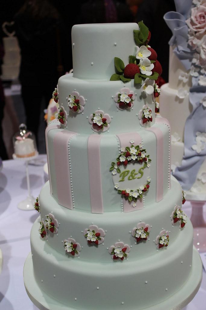 Strawberry Wedding Cake Omaha Ne