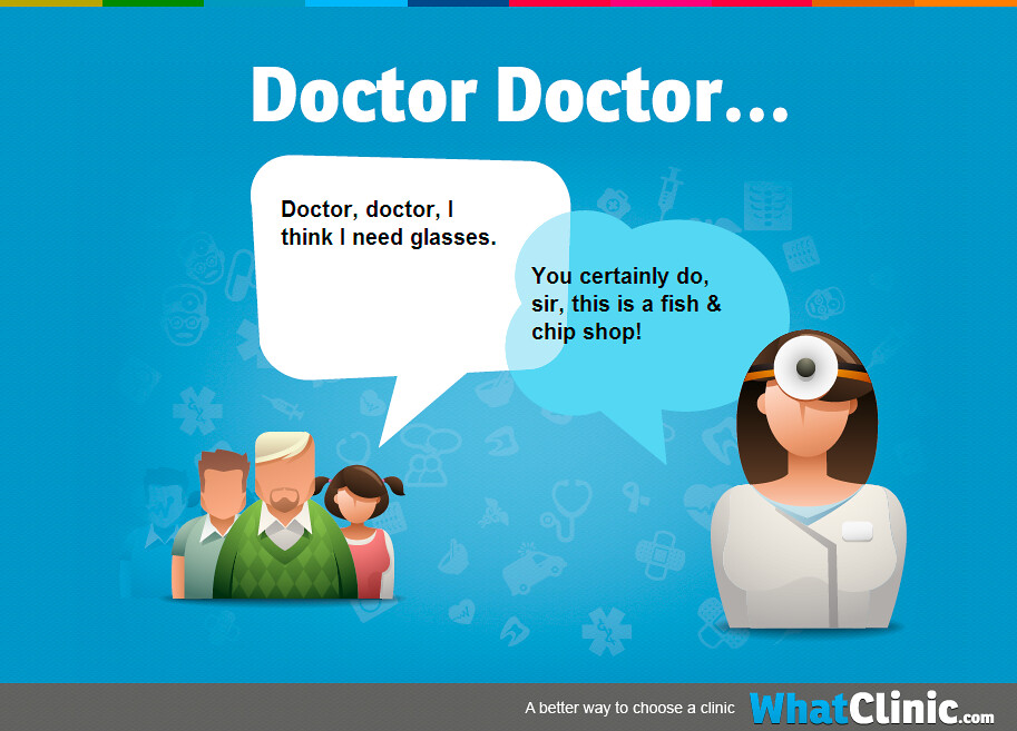 dating a doctor jokes A woman goes to a psychiatrist and says, doctor, you've got to do something about my husband he thinks he's a refrigerator i wouldn't worry too much about it, the doctor replies.
