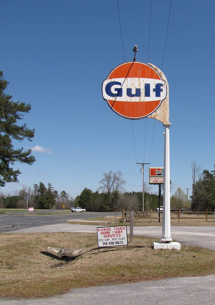Gulf Oil Sign Paint Codes
