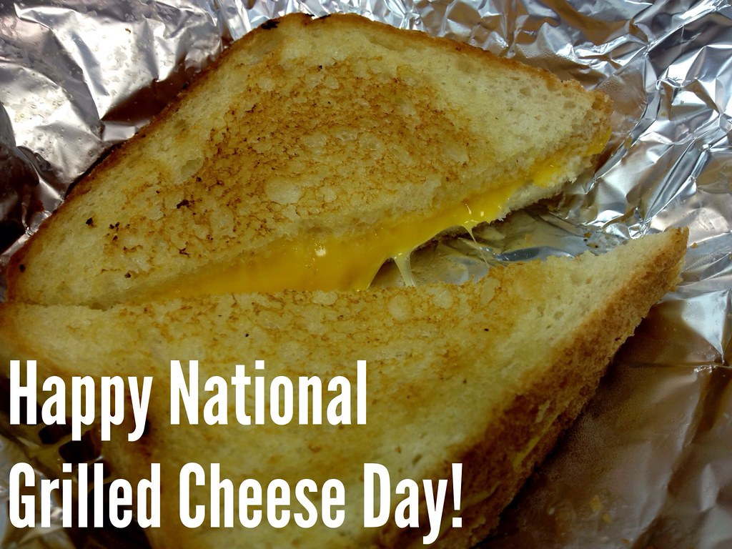 when is national grilled cheese day