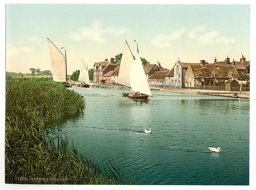 [The village, Horning Village, England]  (LOC) | by The Library of Congress
