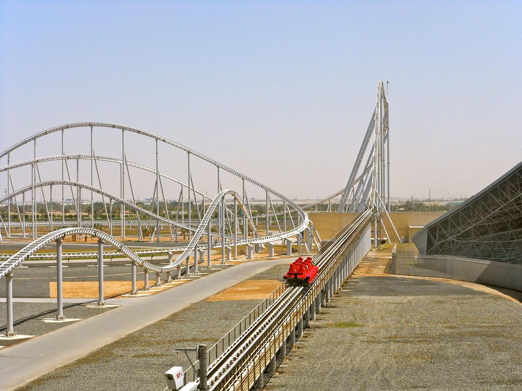 Formula Rossa Worlds Fastest Rollercoaster Ferrari