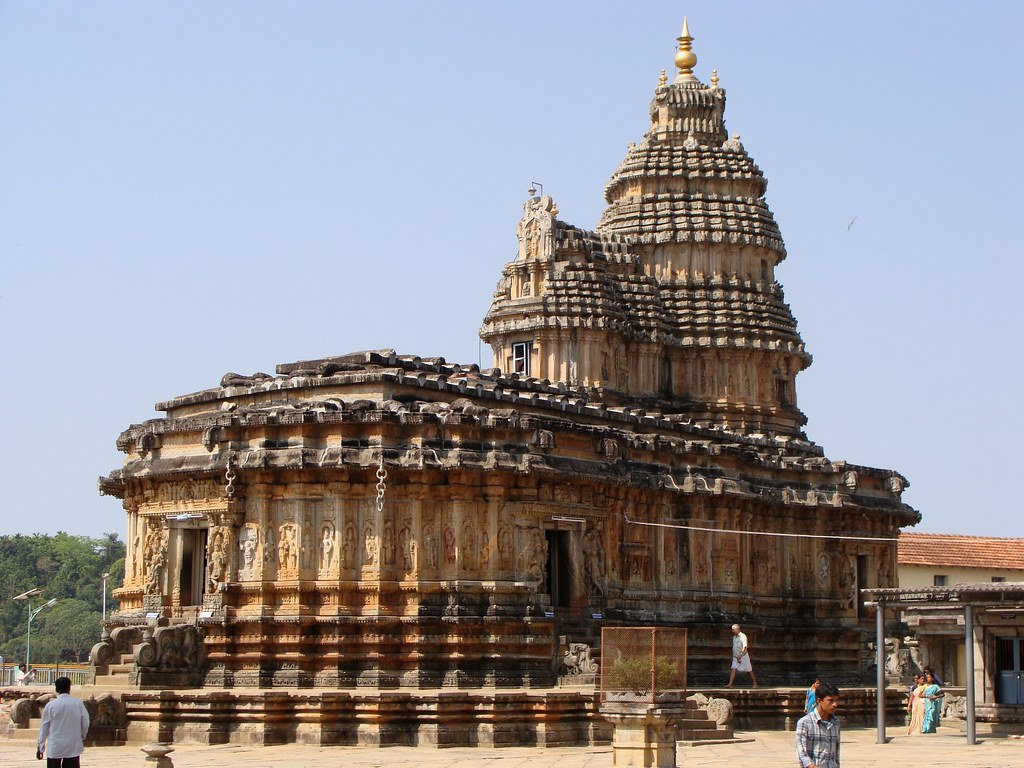 Vidyashankara Temple Sringeri Temple Dedicated To