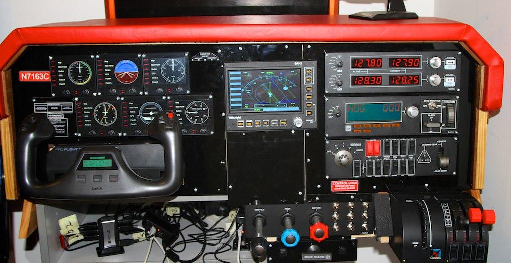 Home  Flight Simulator Cockpit For Sale