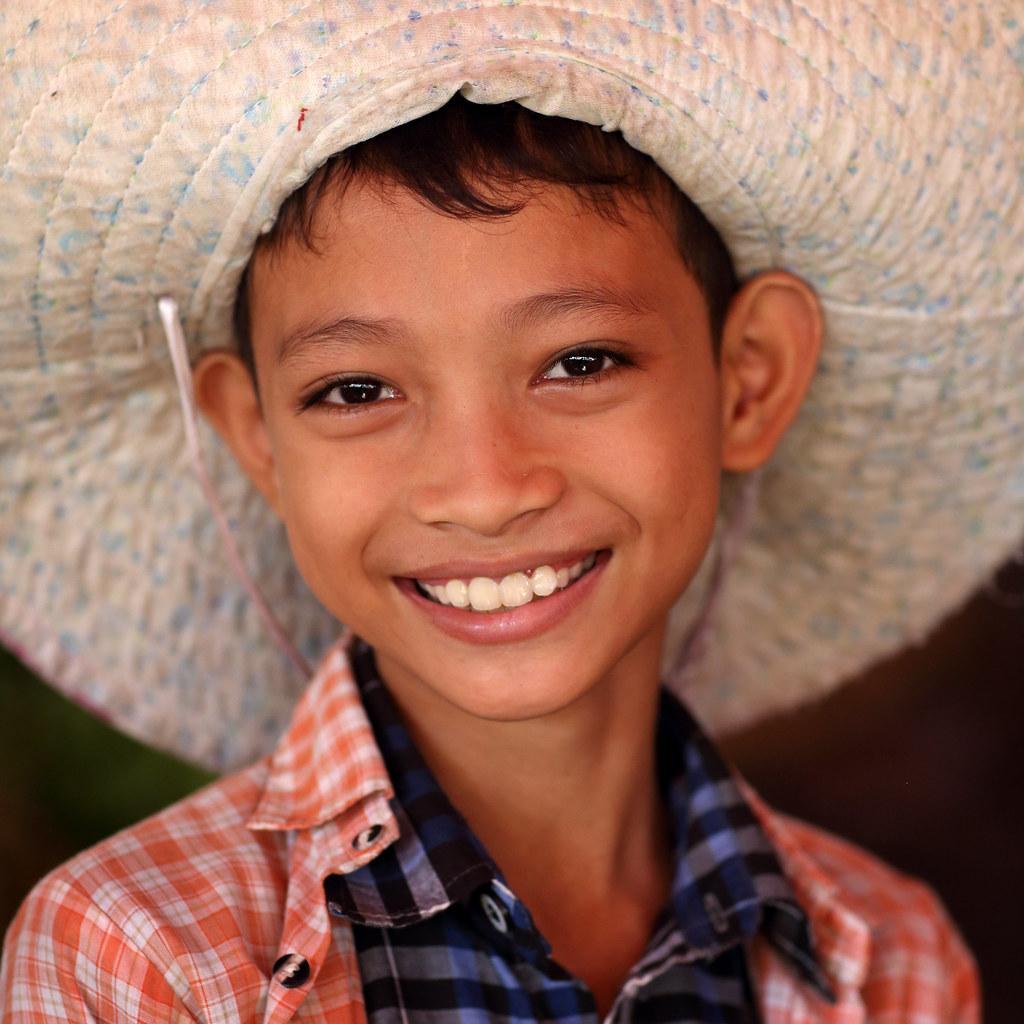 Myanmar (Burma) | Beautiful smiling girl seen on the ...