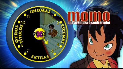 28113410144 2cda573ebd - Momo: Una aventura a contrarreloj [DVD9][Castellano, Catalán, Euskera][2001][Animación][Mega]