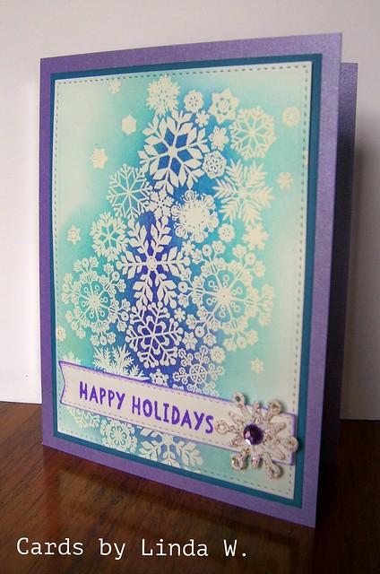 Snowflake Happy Holidays