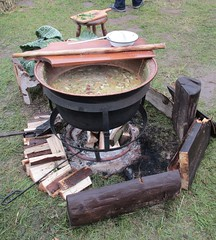 Cauldron of soup