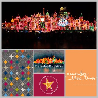 Disneyland Christmas Small World Project Life App Page | by islandmomsteph