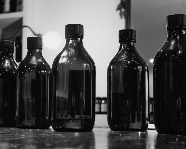 perfume bottles at floris
