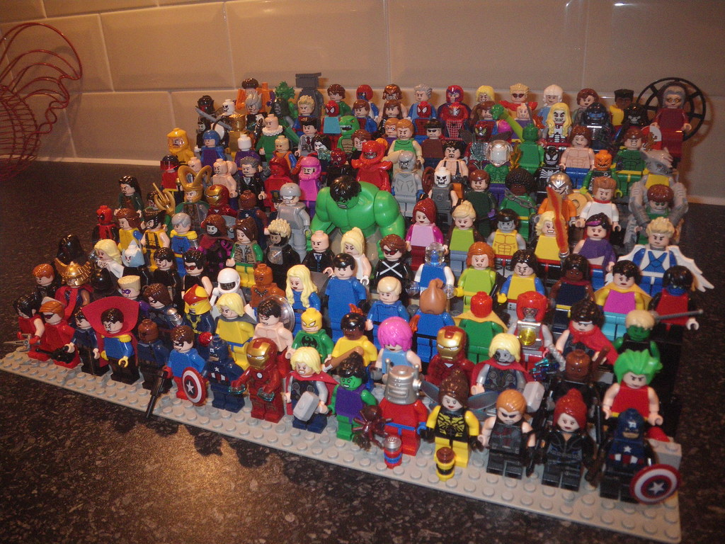 LEGO MARVEL Minifigures (140 figures) | Michael Jamieson | Flickr