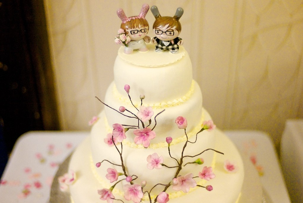 Wedding Dunny Cake Toppers | A gift for my amazing friends H… | Flickr