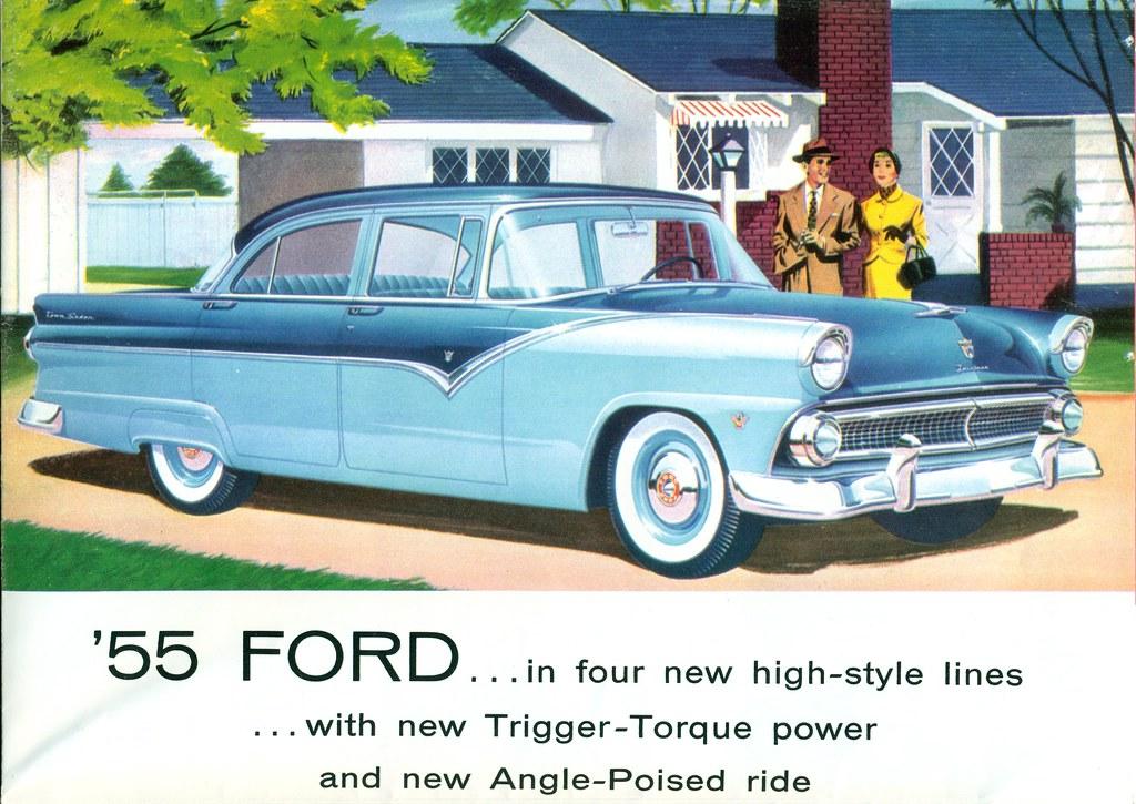 1955 ford fairlane town sedan 4 door sedan coconv flickr for 1955 ford fairlane 4 door